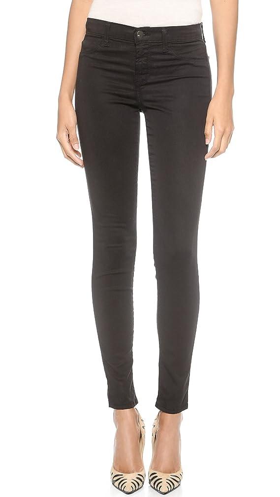 J Brand Women's 485 Super Skinny Luxe Sateen Jeans