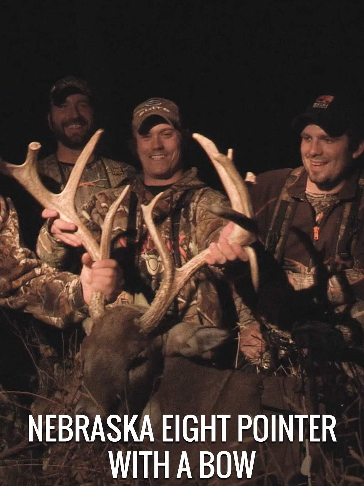 Nebraska Eight Pointer With A Bow