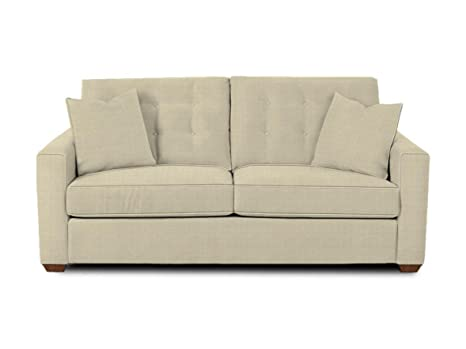 Klaussner Flax Lido Sofa, 81 by 36 by 31-Inch