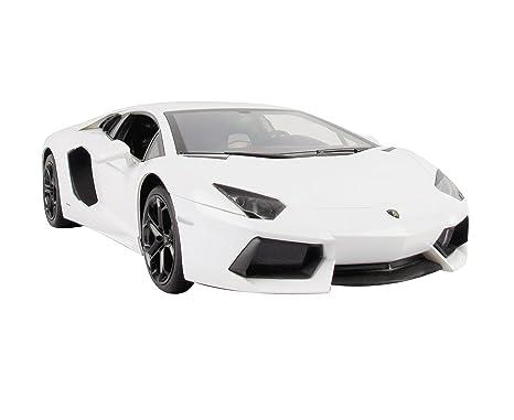 Jamara - 404316 - Maquette - Voiture - Lamborghini Aventador Lp700 - Blanc - 3 Pièces
