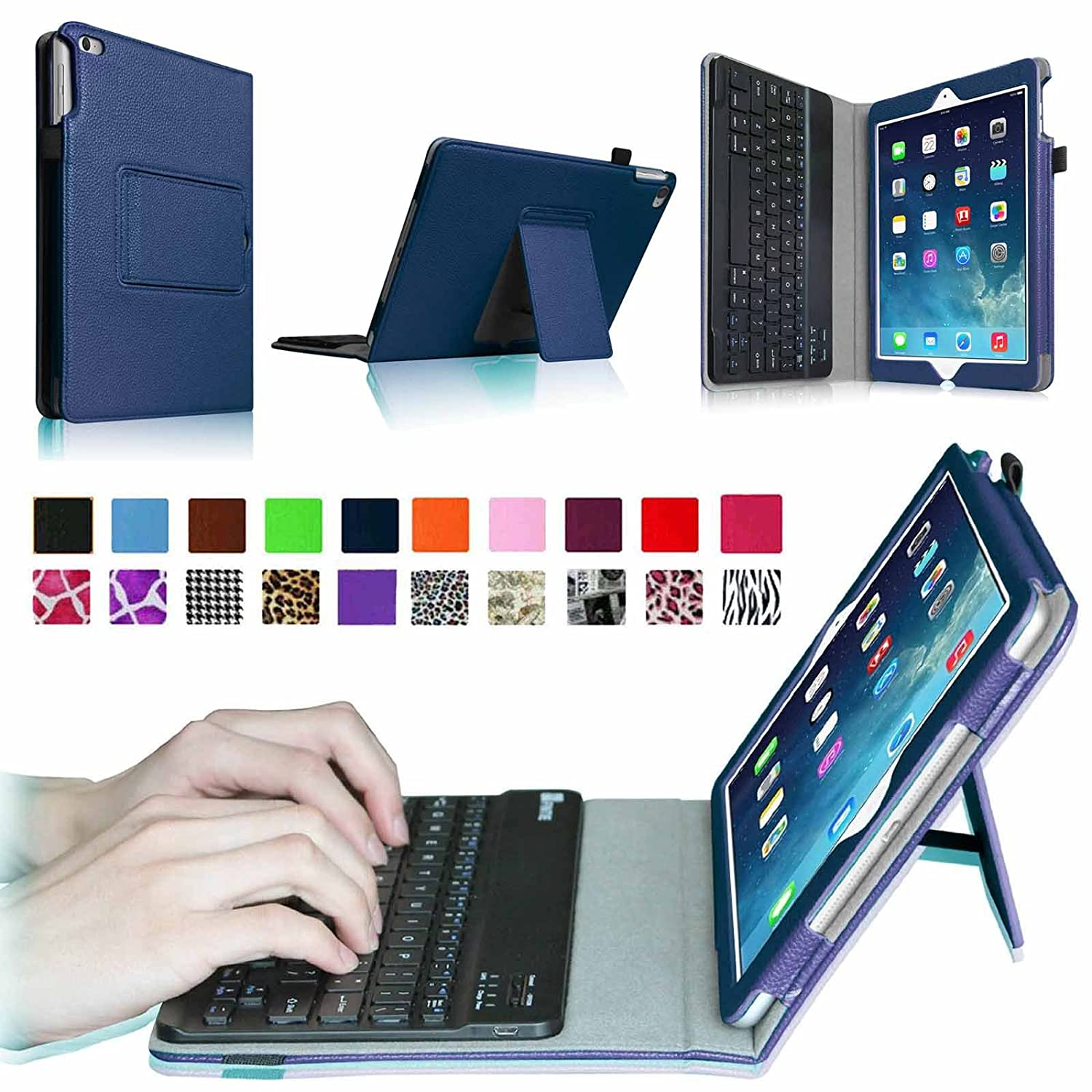 Top 20 Best Apple Ipad Air 2 Accessories Reviews 2016 2017 On Navy Pro Tools Iphone 6g 6p Fintie Keyboard Case Premium Pu Leather Folio Stand Cover With Removable Wireless Bluetooth For