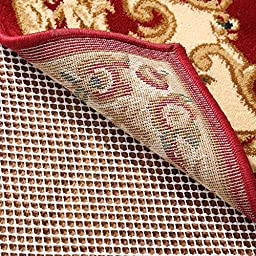 RHF Non-Slip Area Rug Pad 8x8 Ft - Protect Floors While Securing Rug and Making Vacuuming Easier 8x8
