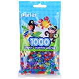 Perler Beads Fuse Beads for Crafts, 1000pcs, Multicolor Glitter (Color: Multicolored)