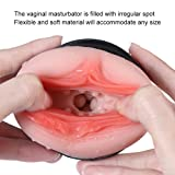 Male Masturators Sleeve 3D Texture Convex Realistic Masturbation Suction Cup Vagina Pocket Pussy Sex Toys Man Masturber Toys Men Masturber Cup