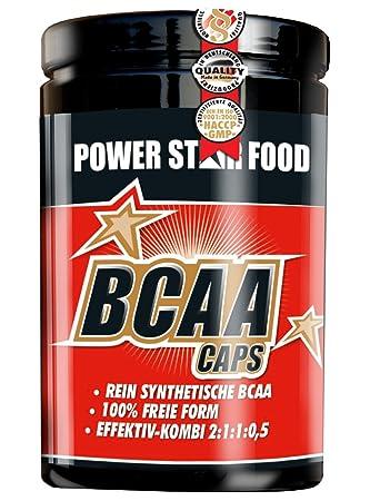 BCAA CAPS, Dose 500 Kapseln à 634 mg, mikrokristallienes L-Leucin, L-Isoleucin, L-Valin und L-Alanin, 2:1:1:0,5. Preishit!