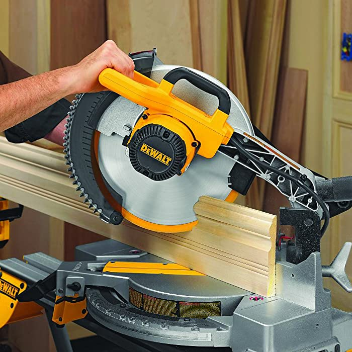 DEWALT DW715 15-Amp 12-Inch Single-Bevel Compound Miter Saw via Amazon