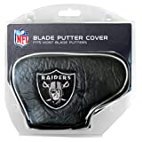 Team Golf NFL Oakland Raiders Golf Club Blade Putter Headcover, Fits Most Blade Putters, Scotty Cameron, Taylormade, Odyssey, Titleist, Ping, Callaway