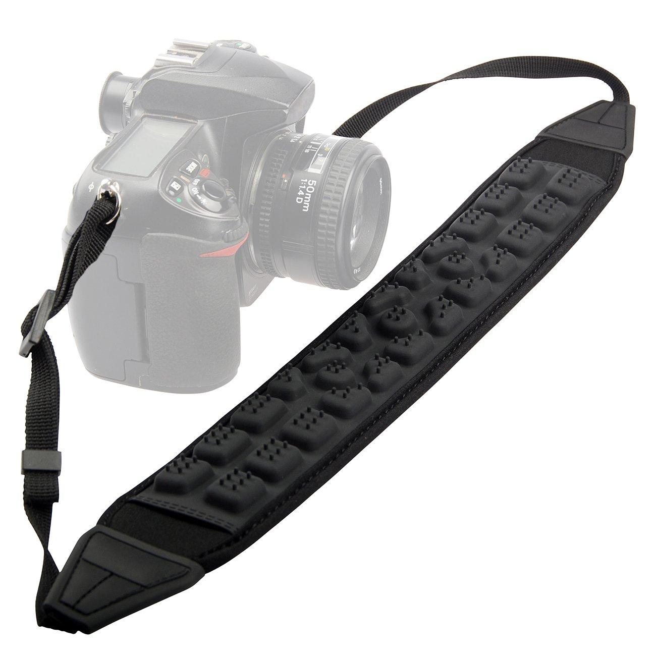 TARION LY-105 Pressure Reduction Decompression Massage Camera Shoulder Neck Strap for SLR DSLR Mirrorless Digital Camera Nikon Canon Sony Pentax
