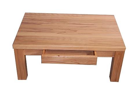 '' mesa de centro (haya maciza maciza Leia. Dimensiones: 105x 65x 48cm de altura. Sobre tamaño. Práctico también de roble, haya, aliso y cerezo.