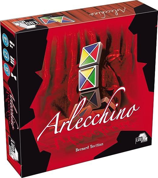 Asmodée - ARL01 - Jeu de stratégie - Arlecchino