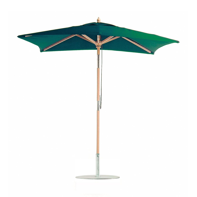 Balkonschirm Eichenholz mit Knickgelenk / 180 x 120 cm / grün online kaufen