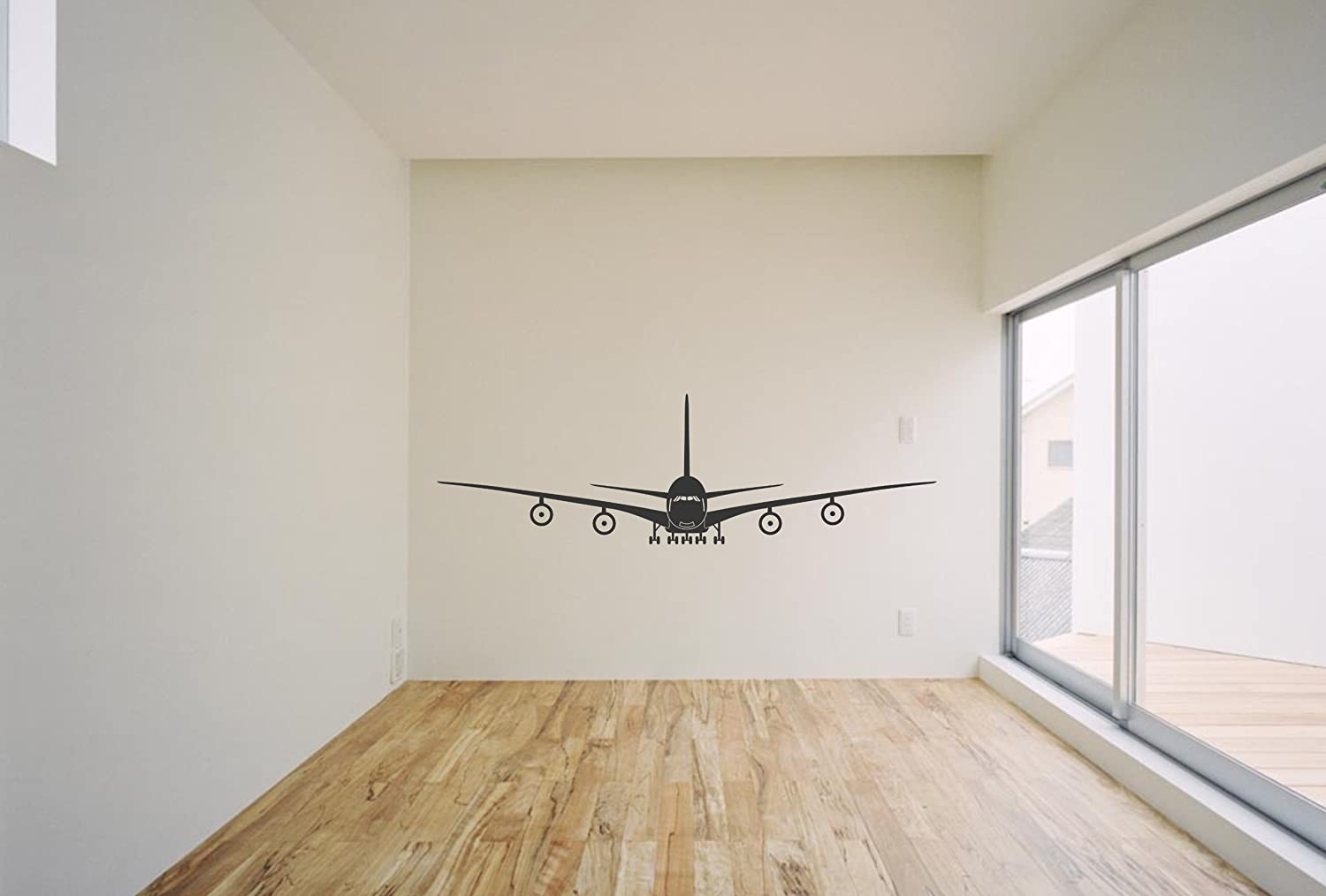 Airplane decals for walls