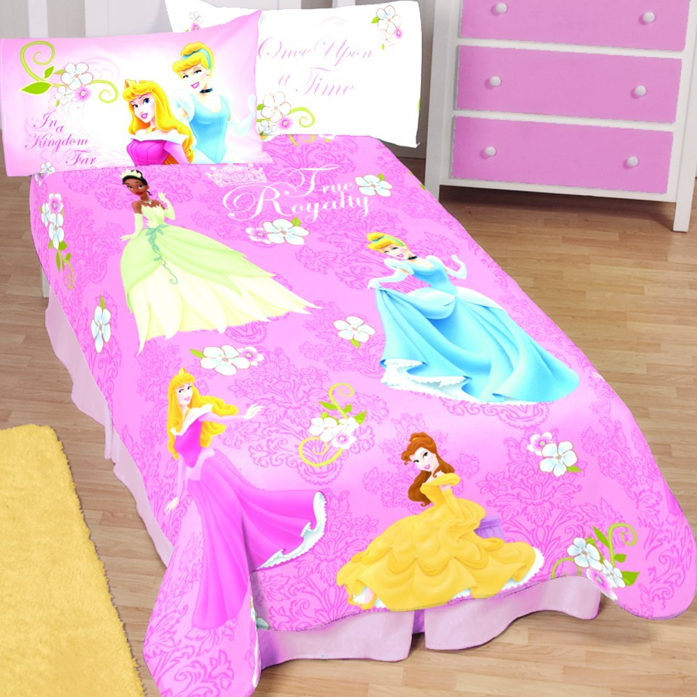 Disney Princess True Royalty Microraschel Blanket