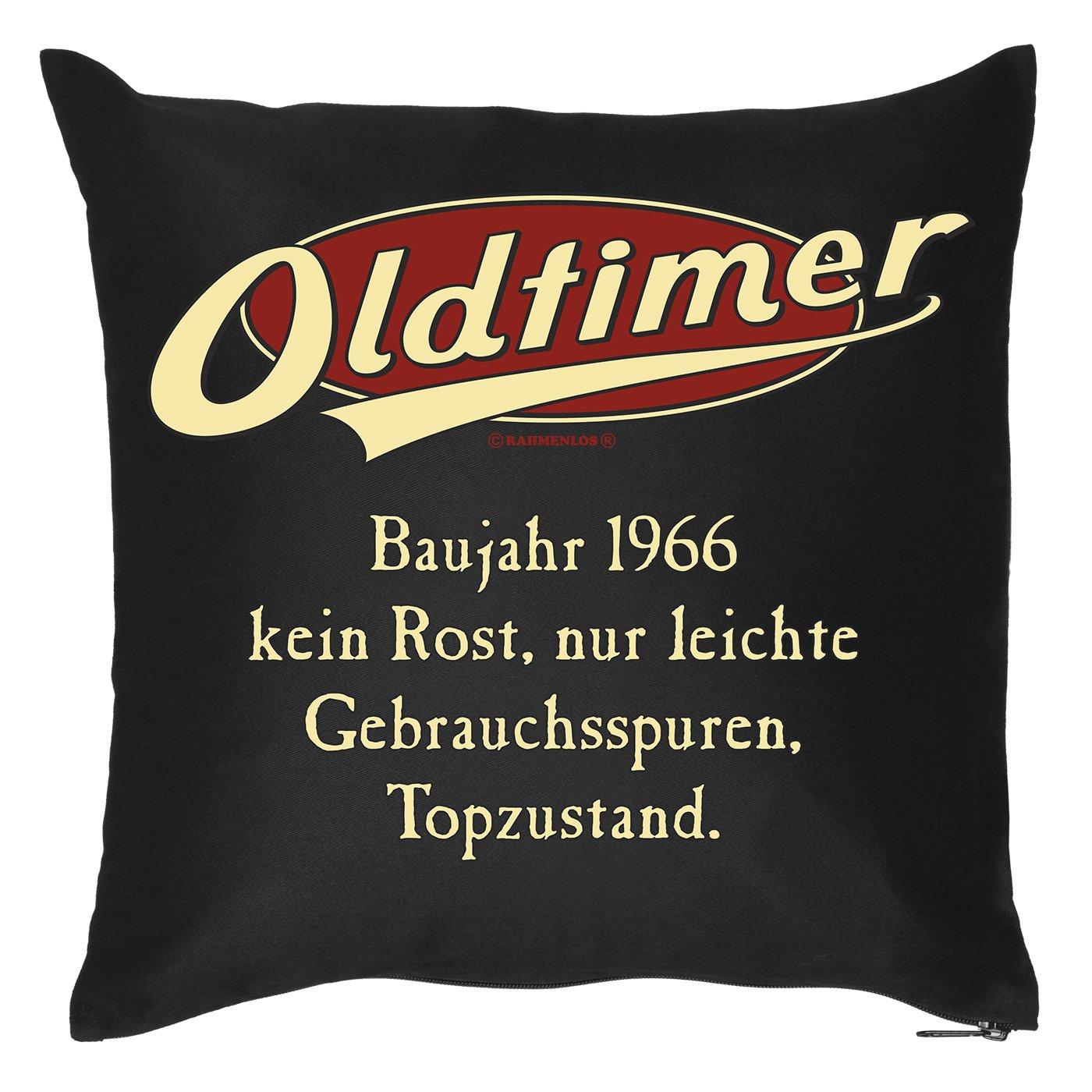 Kissen-Bezug ::: Oldtimer - Baujahr 1966 ::: Kuscheliges zum Geburtstag