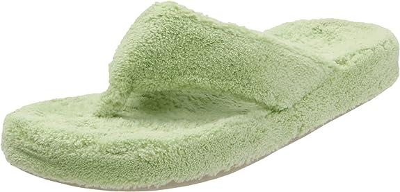 ACORN Women's New Spa Thong Slipper New