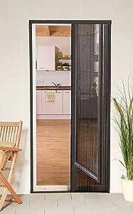 Culex 100580107VH Plisseetür Plissee Insektenschutz Tür 125x220cm kürzbar anthrazit  BaumarktKundenbewertung und weitere Informationen