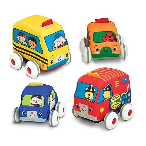 Melissa & Doug Ks Kids Pull-Back Vehicle Set