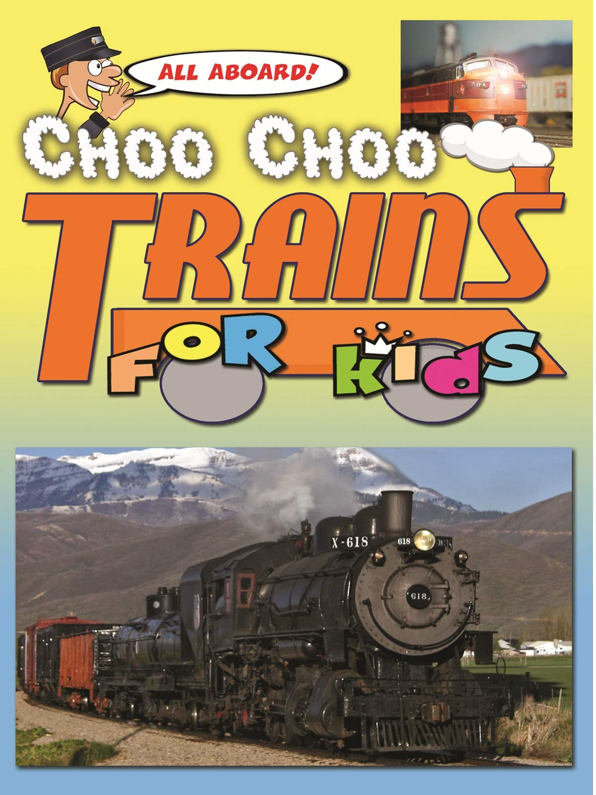 Clip: All Aboard! Choo Choo Trains For Kids
