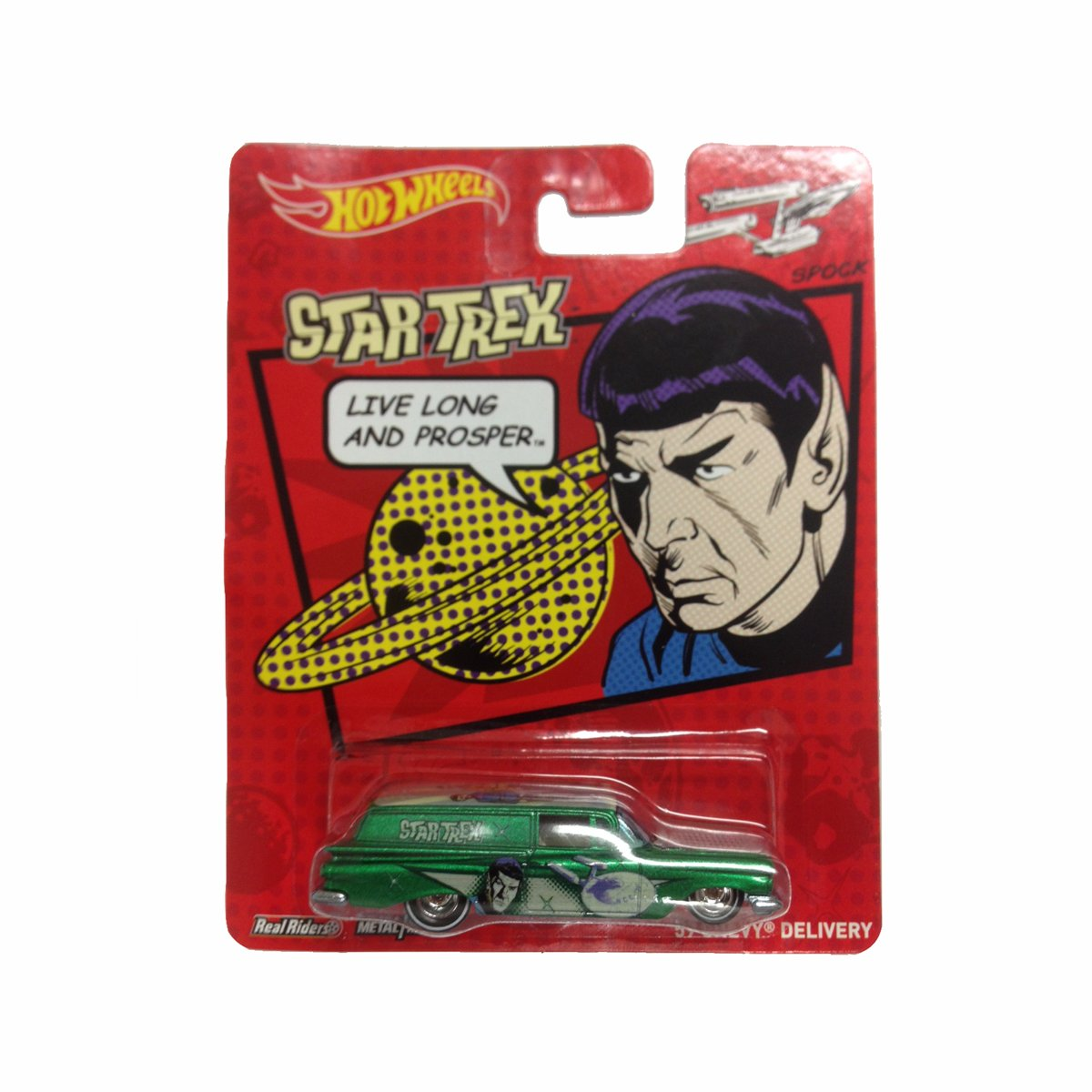 Star Trek Hot Toys Hot Wheels Star Trek Die-cast