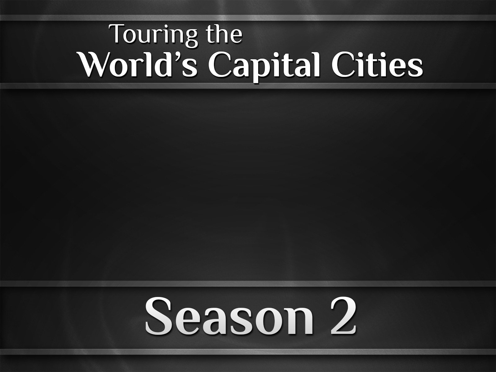Touring the World's Capital Cities on Amazon Prime Video UK