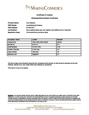 Coco Betaine - 16.8floz / 500ml