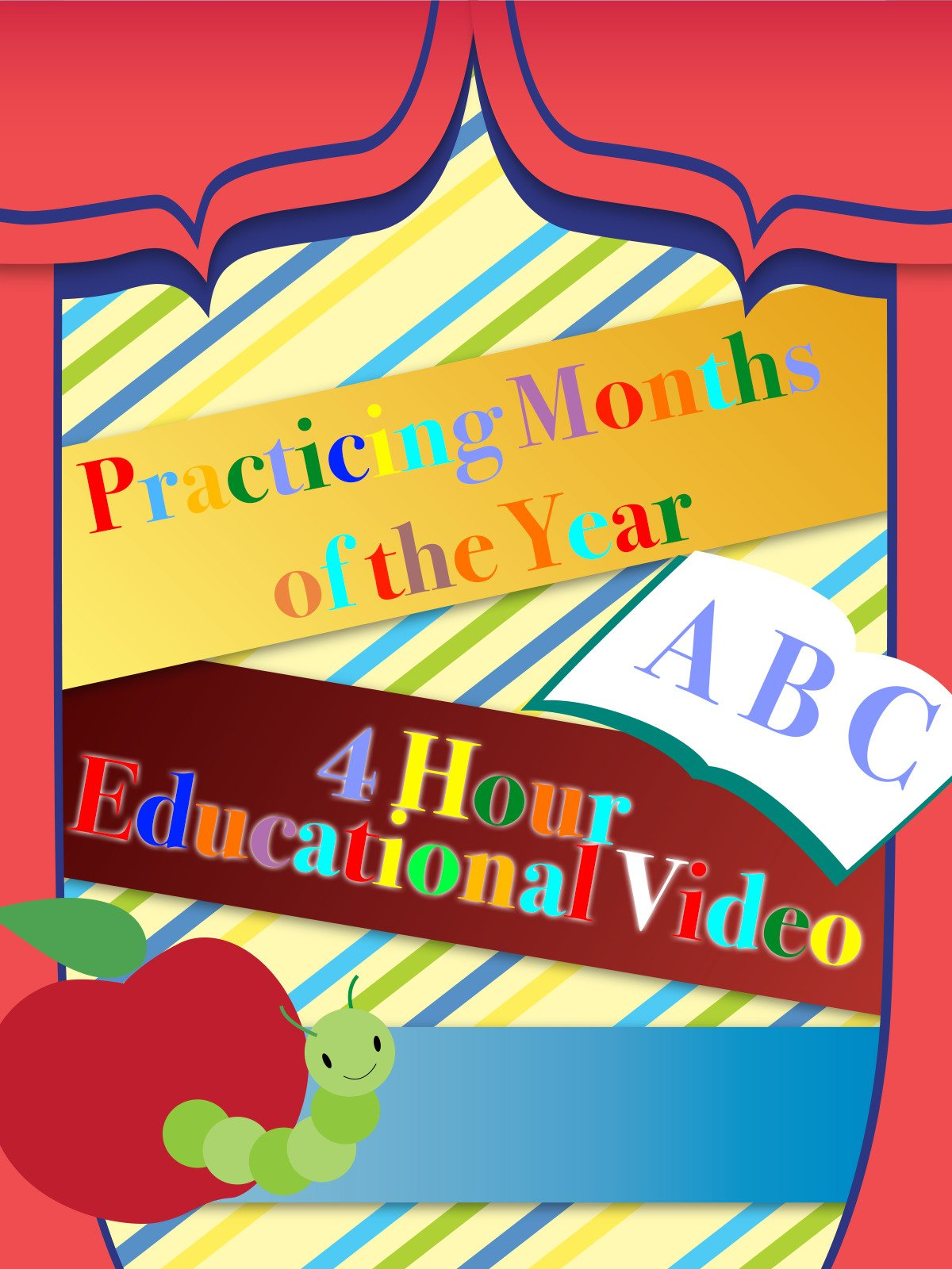 Practicing Months of the Year 4 Hour Educational Video on Amazon Prime Instant Video UK