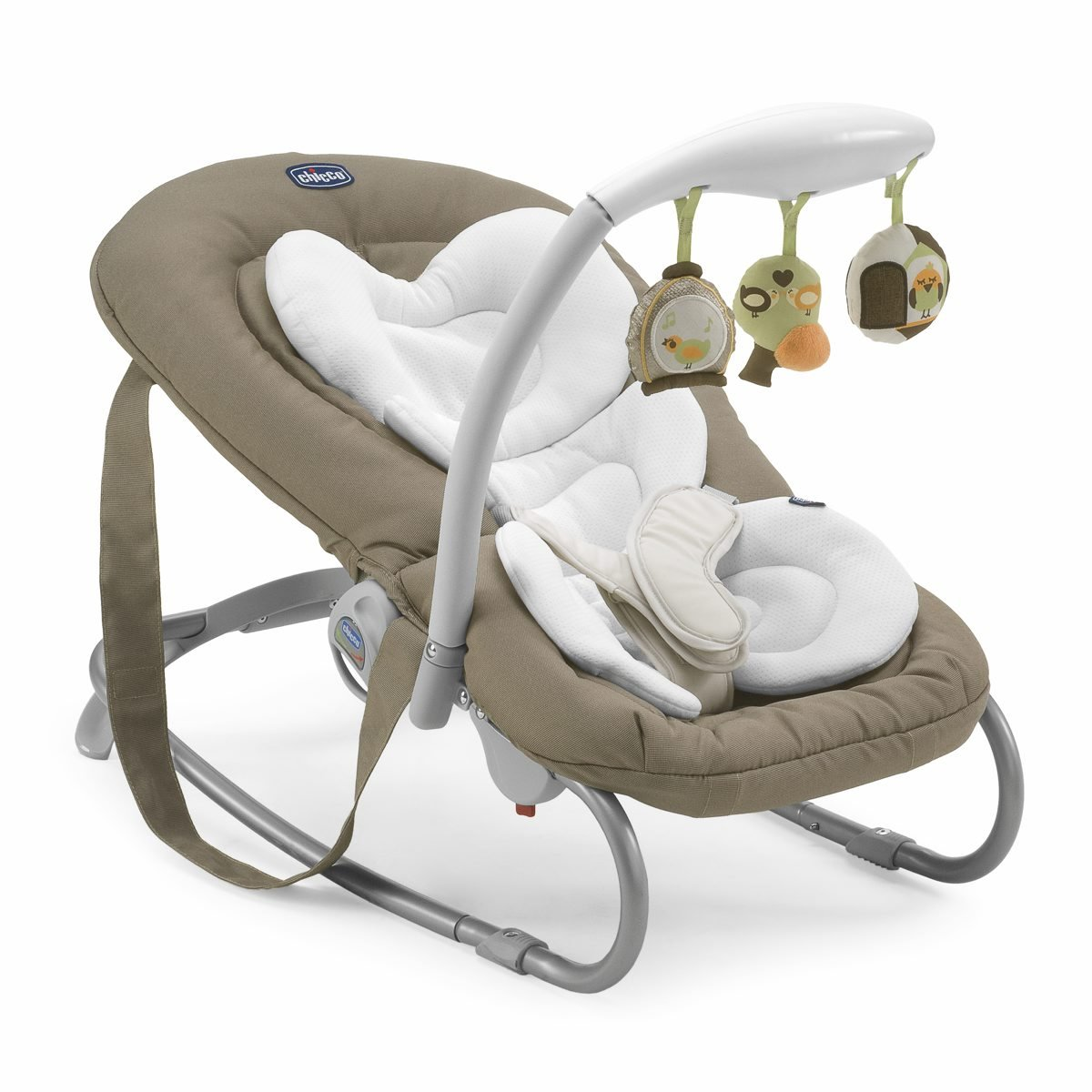 Chicco Mia Rocker Chick to Chick for 0-6 Months - Brown