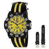 Luminox 3955.SET Scott Cassell Yellow Dial Carbon Reinforced Case Mens Watch