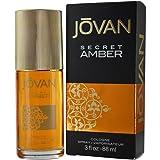 Jovan Cologne Spray, Secret Amber, 3 Ounce (Tamaño: 3 Ounces)