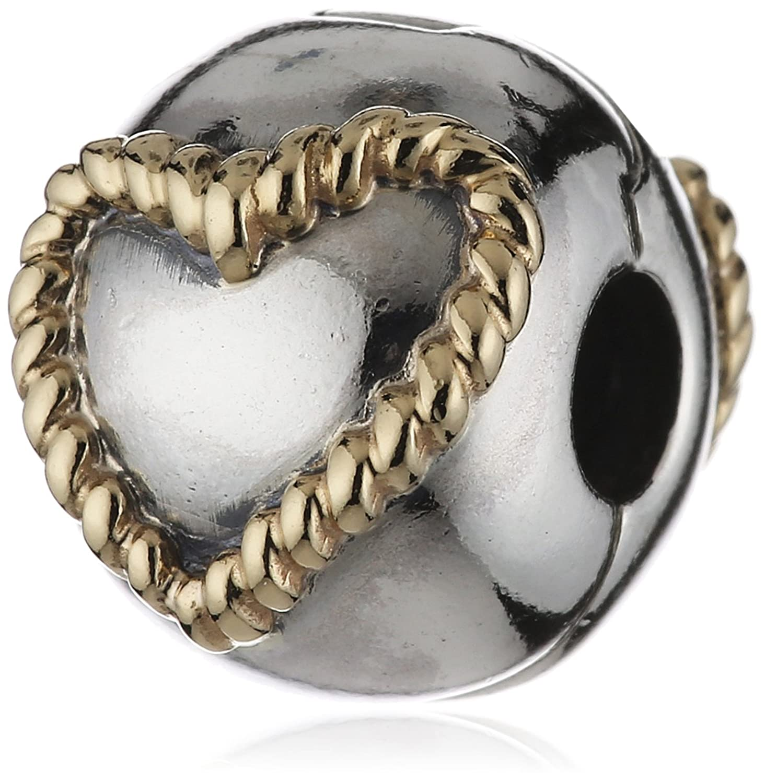 Pandora Damen-Charmclip Braided Heart 14K Gold 790599 online bestellen