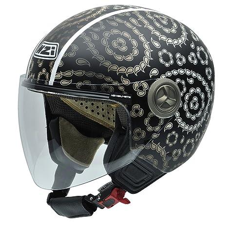 NZI 050256G586 autres casques helix iV, paisley multi casco de moto taille :  54 cm