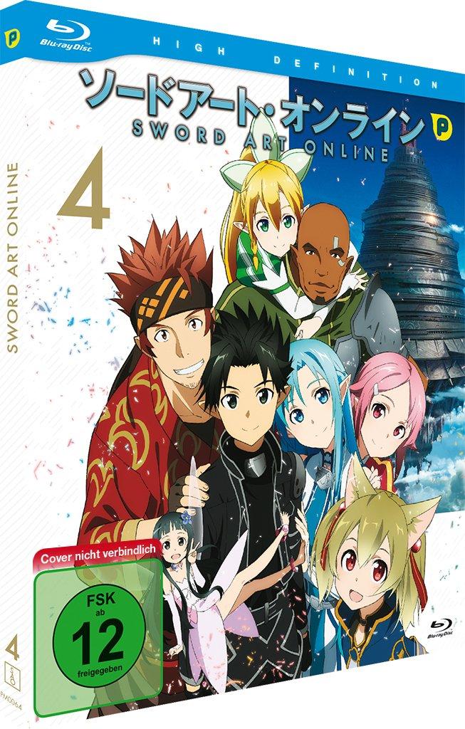 Sword Art Online, Blu-ray