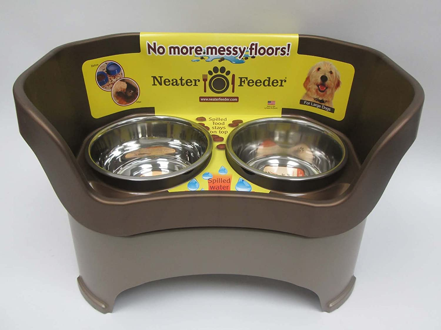 Save money on these clearance dog bowls and feeders at exceptional prices. Don't miss this opportunity to get a brand new dog feeder or waterer at low, discount prices.