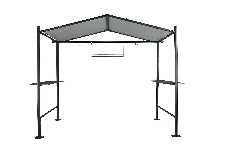 Sorara – Milano BBQ Grill Pavillon | Dunkelgrau | 265 x 150 cm | PVC 600 g/m² | Garten & Outdoor bestellen