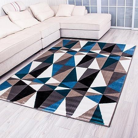 Alfombra # sala de estar Mesa de centro Salón Alfombra Dormitorio Dormitorio Rectángulo Alfombra de cama alfombras ( Color : A , Tamaño : 120*170CM )