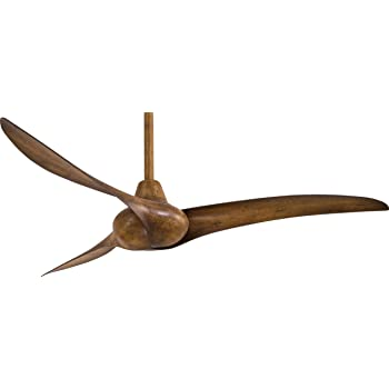 Minka-Aire F843-DK, Wave Distressed Koa 52-Inch Ceiling Fan with Remote Control