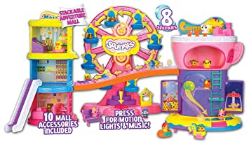 Squinkies – 75362 – Distributeur Maxi Centre Commercial Surprise Squinkies