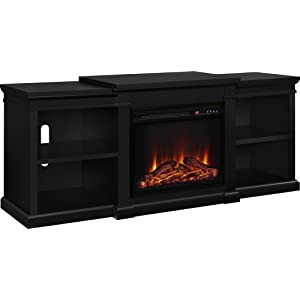 Altra<sup>™</sup> Furniture Manchester TV Stand with Fireplace width=
