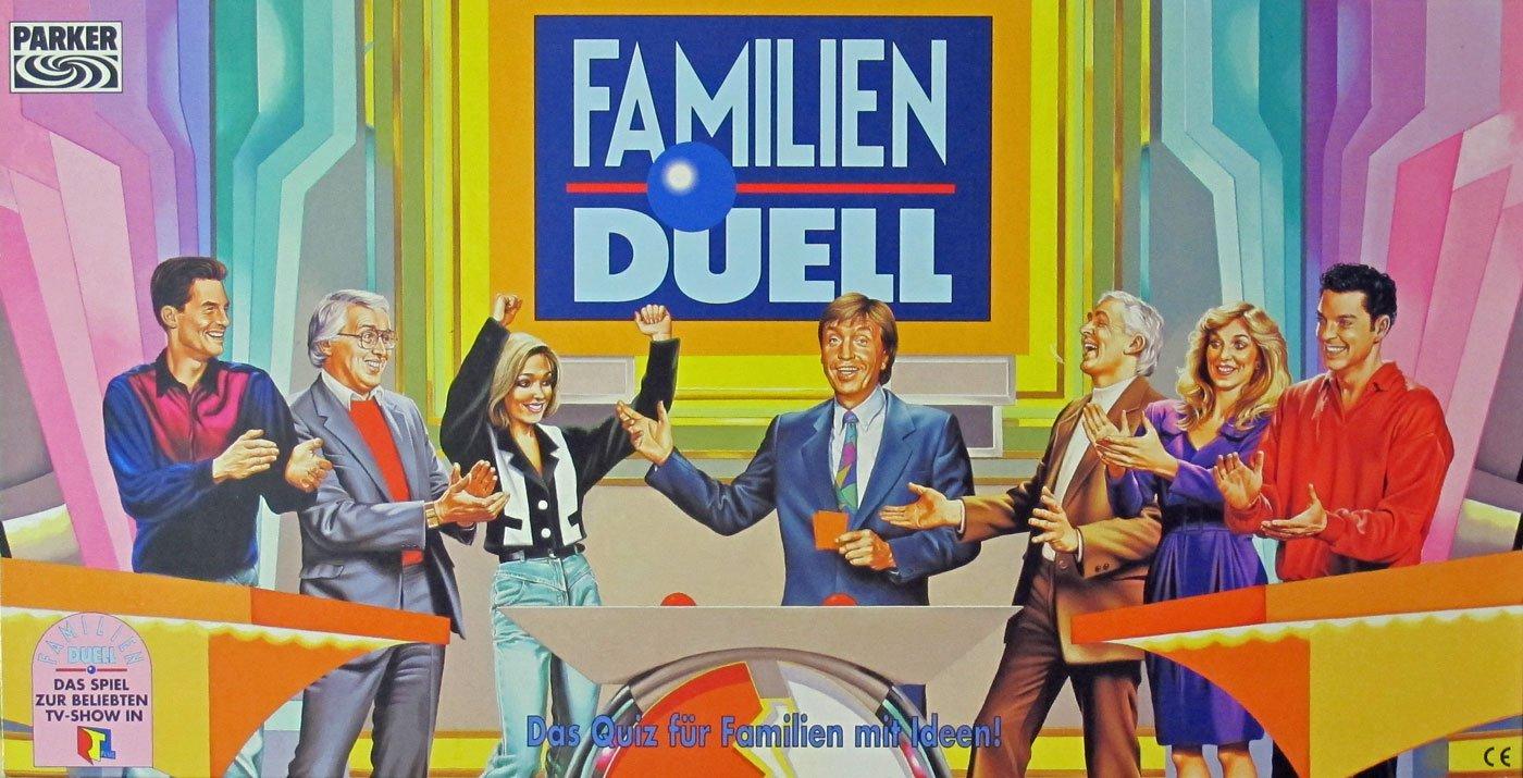 FAMILIEN DUELL – Das Spiel zur beliebten TV-Show in RTL PLUS als Weihnachtsgeschenk