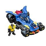 Fisher-Price Imaginext DC Super Friends, Batmobile (Color: Multi, Tamaño: n.a.)