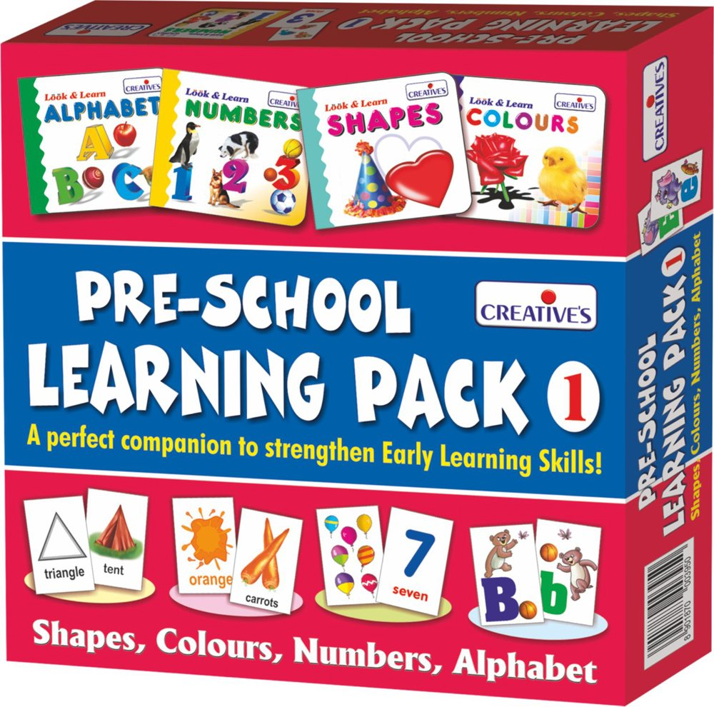 Creative Educational(Shapes, Colours, Numbers and Alphabet) -Buy Now