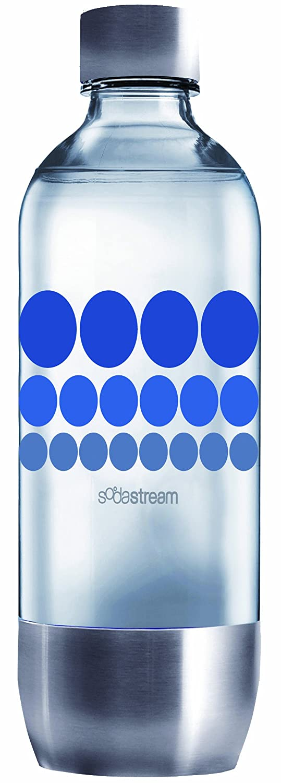 Sodastream Sprudlerflasche 1 l mit Edelstahldeckel,