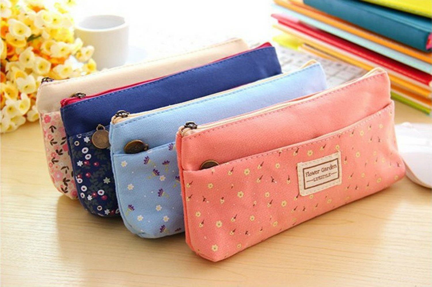 ONOR-Tech Lovely Cute Multi-Fuctional Pencil/Pen Case Bag Pounch Cosmetic Makeup Bag Case