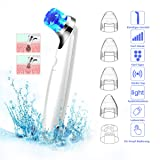 Blackhead Remover Vacuum, Electric Blackhead Pore Vacuum Suction Cleanser Extractor, Blackhead comedone extractor with Scrub Beauty Face Cleaner Blackhead Tool with Light that Shrink Pore Function