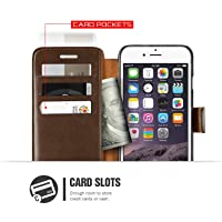 iPhone 6S Case, Verus [Layered Dandy][Black] - [Card Slot][Flip][Slim Fit][Wallet] - For Apple iPhone 6 and iPhone 6S 4.7