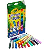 Crayola Washable Pip-Squeaks Skinnies Markers 16-Count per Pack (1-Pack) (Tamaño: 1 pack)