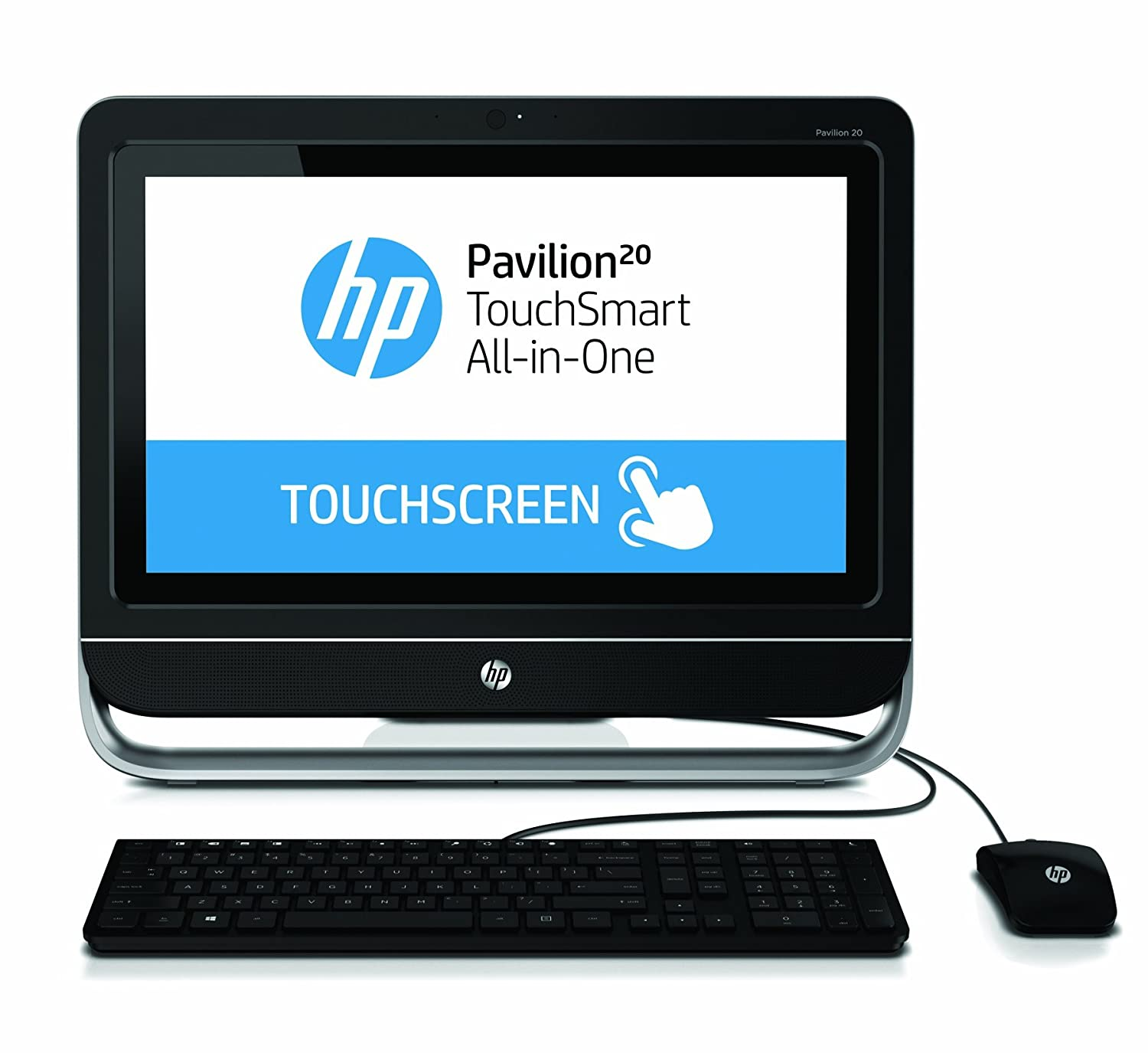 hp all in one 20 touch screen computer w 4gb ddr3 500gb. Black Bedroom Furniture Sets. Home Design Ideas