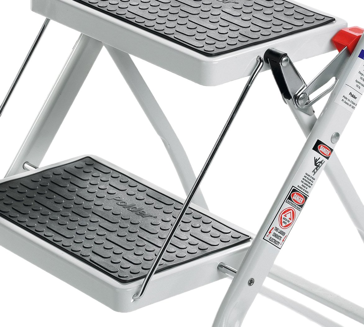 Polder 90401-91H 2-Step Mini-Stool