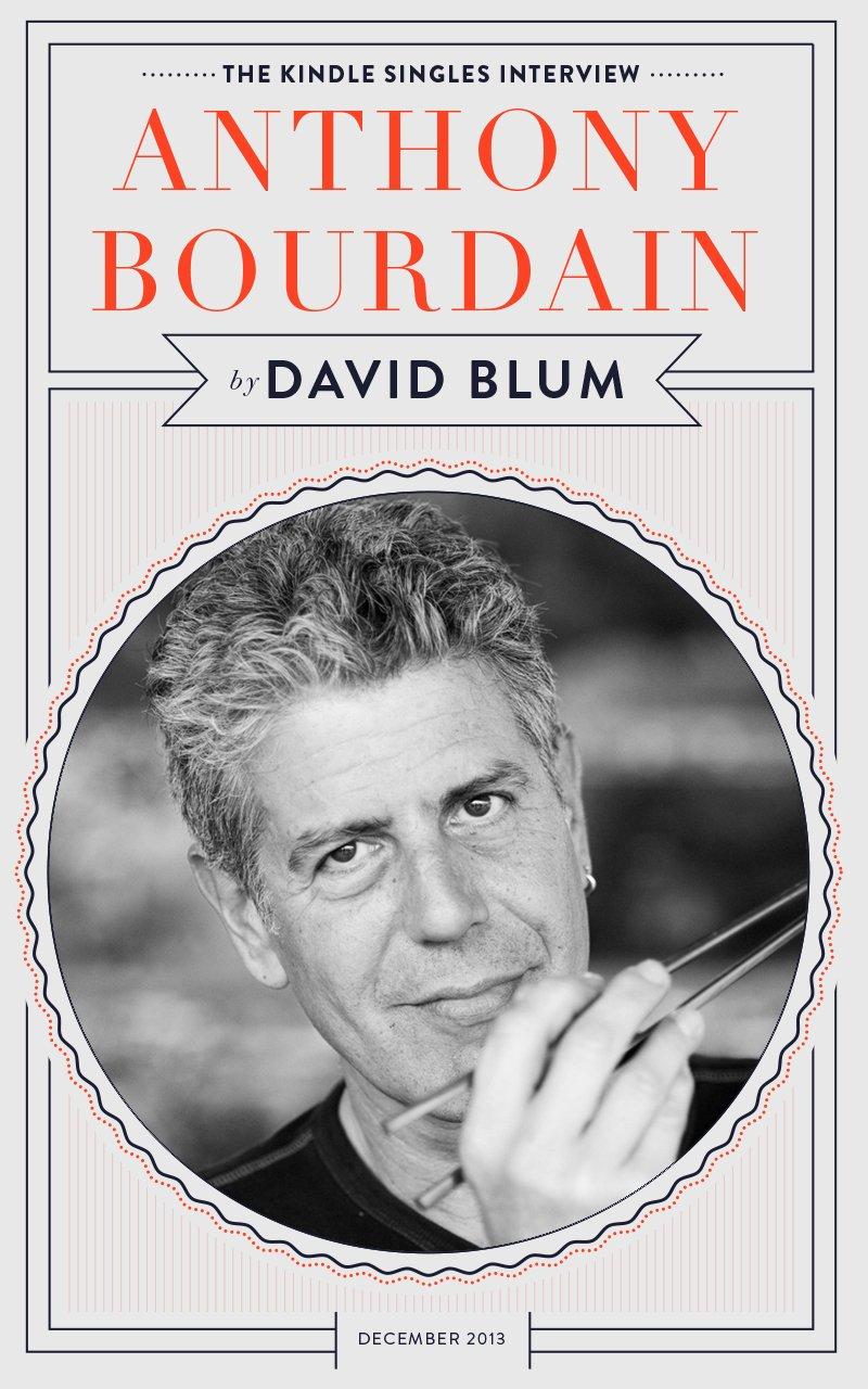 Bourdain - Magazine cover