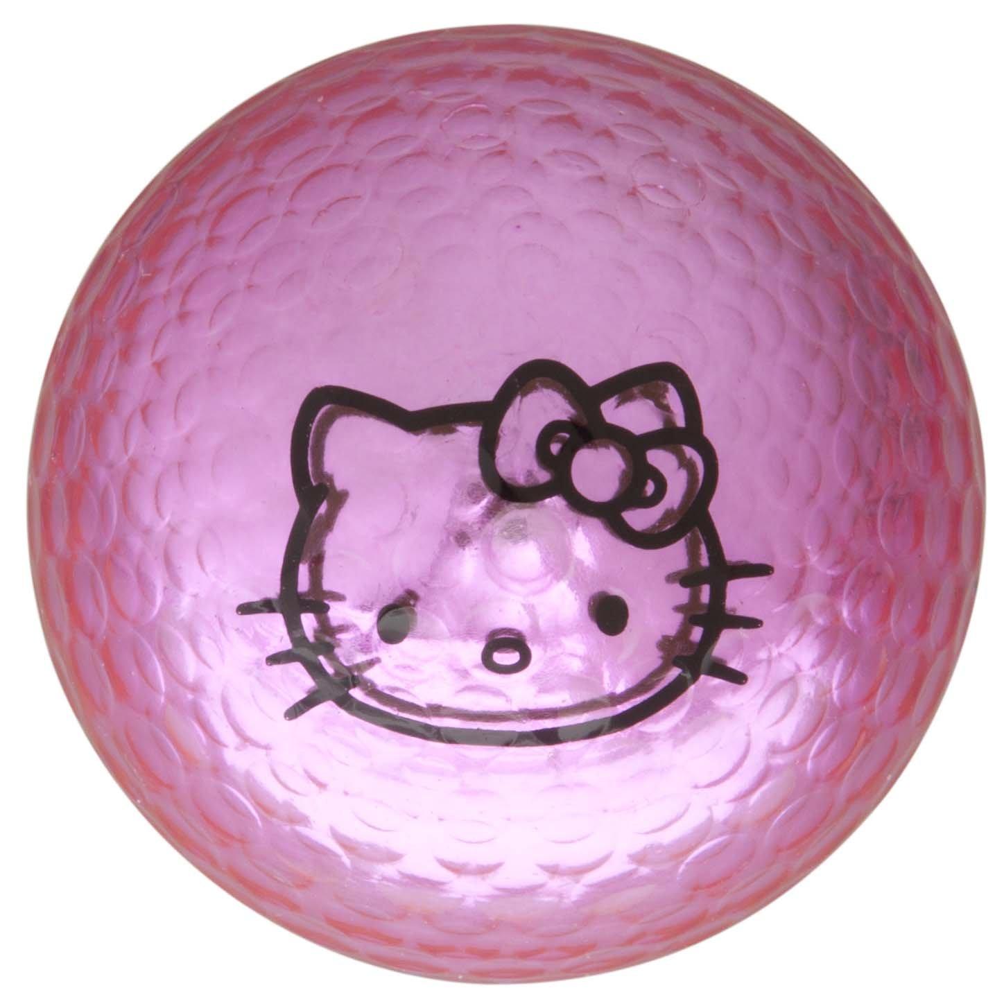 Hello Kitty Couture Pink Golf Balls - 12 Balls